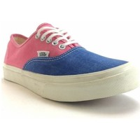 Scarpe Donna Sneakers Vans authentic washed 2 tone Rosa