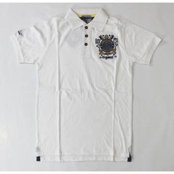 Abbigliamento Uomo Polo maniche corte Catbalou ATRMPN-20335 Bianco