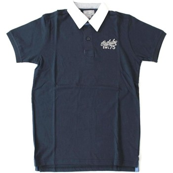 Abbigliamento Uomo Polo maniche corte Catbalou ATRMPN-20336 Blu