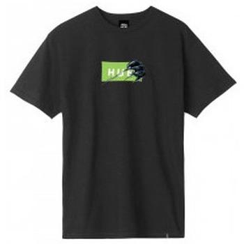 Abbigliamento Uomo T-shirt maniche corte Huf Godzilla VS  - Godzilla Bar Logo Tee - Black Nero