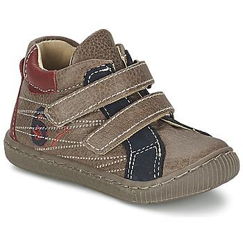 Scarpe Bambino Sneakers alte Citrouille et Compagnie THEO Taupe