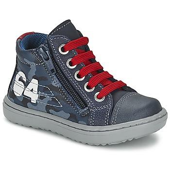 Scarpe Bambino Sneakers alte Citrouille et Compagnie MINAI Blu