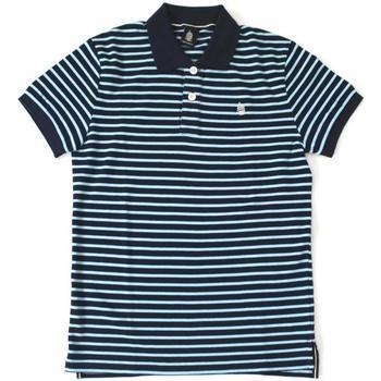 Abbigliamento Uomo Polo maniche corte Marina Yachting ATRMPN-20339 Blu
