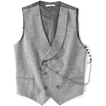 Abbigliamento Uomo Gilet da completo Langella ATRMPN-20353 Grigio