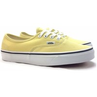 Scarpe Donna Sneakers basse Vans authentic Giallo