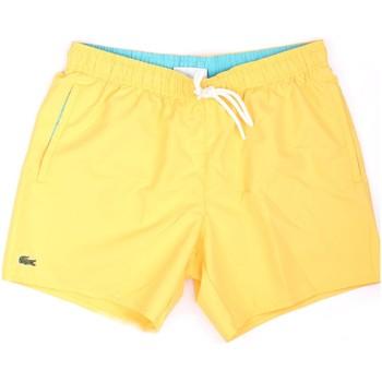 Abbigliamento Uomo Costume / Bermuda da spiaggia Lacoste MH6270 00 Costume da bagno Uomo giallo giallo