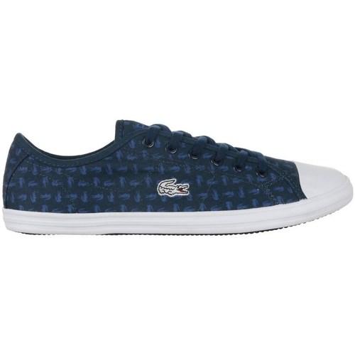 Scarpe Donna Sneakers basse Lacoste Ziane Sneaker 116 2 Spw Bianco, Blu marino