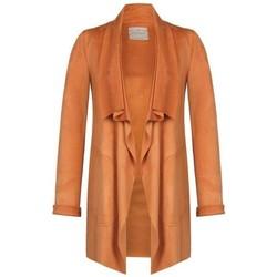 Abbigliamento Donna Giacche / Blazer Rinascimento CFC0091629003 GIUBBINO PELLE Arancio