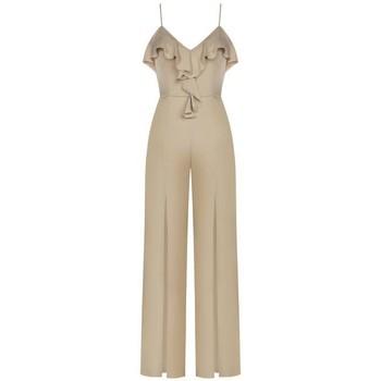 Abbigliamento Donna Tuta jumpsuit / Salopette Rinascimento CFC0092714003 BEIGE Beige