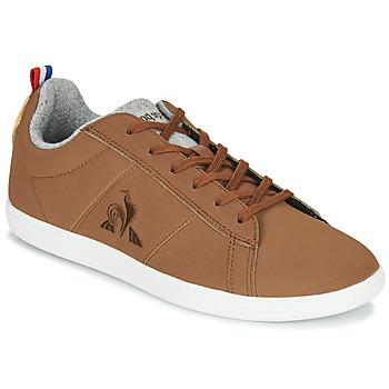 Scarpe Sneakers basse Le Coq Sportif COURTCLASSIC GS Marrone