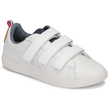 Scarpe Unisex bambino Sneakers basse Le Coq Sportif COURTCLASSIC PS Bianco