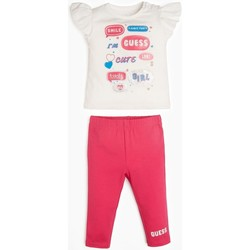Abbigliamento Bambina Completo Guess A01G15K9IY0 WCLY Bianco