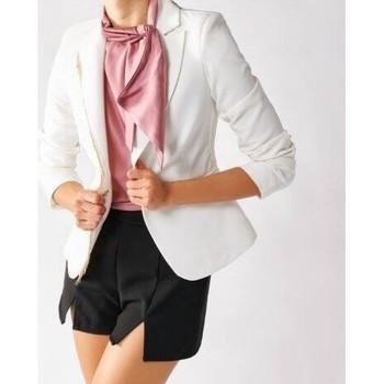 Abbigliamento Donna Giacche / Blazer Rinascimento CFC0096988003 WHITE Bianco