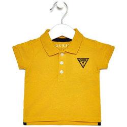 Abbigliamento Bambina Polo maniche corte Guess I82P02K5DS0 GLRY Giallo