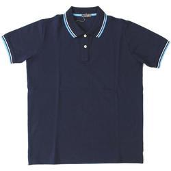 Abbigliamento Uomo Polo maniche corte Ferrante ATRMPN-20402 Blu