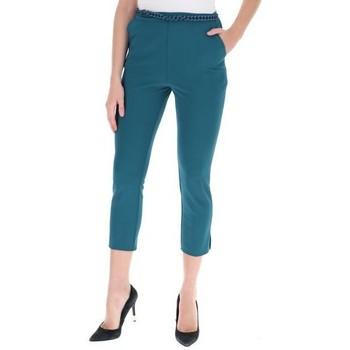 Abbigliamento Donna Pantaloni Rinascimento CFC0016806002 BLUOTTANIO Blu