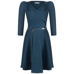 Abbigliamento Donna Vestiti Rinascimento CFC0093974003 BLU OTTANIO Blu