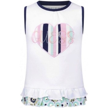 Abbigliamento Bambina Top / T-shirt senza maniche Guess K01I19K6YW0 TWHT Bianco
