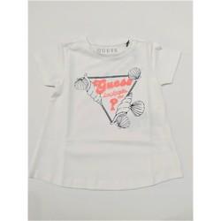 Abbigliamento Bambina Maglioni Guess K02I05K6YW0 TWHT Bianco