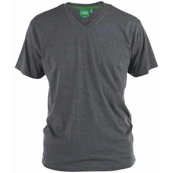 Abbigliamento Uomo T-shirt maniche corte Duke Signature-2 Carbone melange