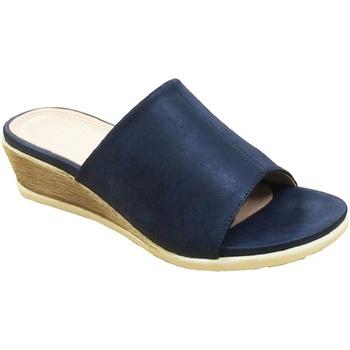 Scarpe Donna Ciabatte Cipriata  Blu navy