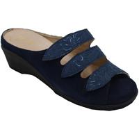 Scarpe Donna Ciabatte Angela Calzature ANSICE1279blu blu