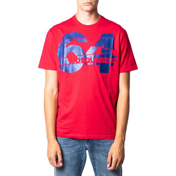 Abbigliamento Uomo T-shirt maniche corte Dsquared S71GD0764 Rosso
