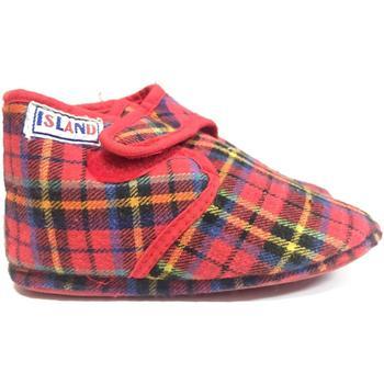 Scarpe Unisex bambino Pantofole Island ATRMPN-20450 Rosso