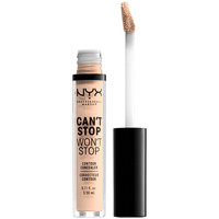 Bellezza Donna Contorno occhi & correttori Nyx Can't Stop Won't Stop Contour Concealer light Ivory  3,5 ml