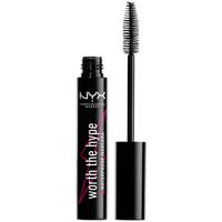 Bellezza Donna Mascara Ciglia-finte Nyx Worth The Hype Waterproof Mascara black