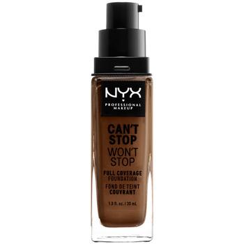 Bellezza Donna Fondotinta & primer Nyx Can't Stop Won't Stop Full Coverage Foundation cocoa  30 ml