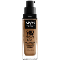 Bellezza Donna Fondotinta & primer Nyx Can't Stop Won't Stop Full Coverage Foundation caramel 30 ml