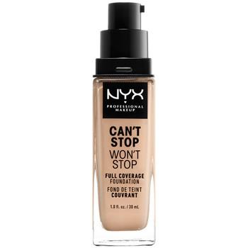 Bellezza Donna Fondotinta & primer Nyx Can't Stop Won't Stop Full Coverage Foundation vanilla 30 ml