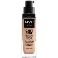 Bellezza Donna Fondotinta & primer Nyx Can't Stop Won't Stop Full Coverage Foundation light  30 ml