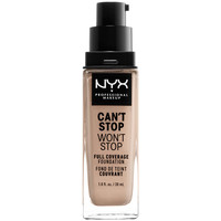 Bellezza Donna Fondotinta & primer Nyx Can't Stop Won't Stop Full Coverage Foundation porcelain 30 ml