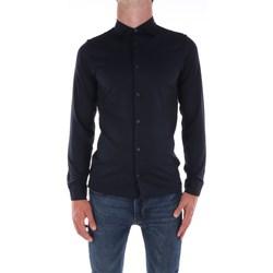 Abbigliamento Uomo Camicie maniche lunghe Jeordie's 57101 Bleu