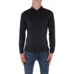 Abbigliamento Uomo Camicie maniche lunghe Jeordie's 57101 Nero
