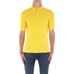 Abbigliamento Uomo T-shirt maniche corte Filippo De Laurentis X40691 Maniche Corte Uomo Giallo Giallo