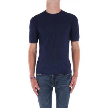 Abbigliamento Uomo Polo maniche corte Filippo De Laurentis X40191 Manica Corta Uomo Blu Blu