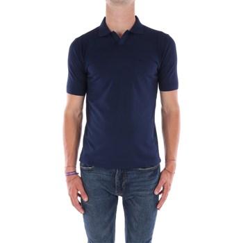Abbigliamento Uomo T-shirt maniche corte Filippo De Laurentis X23681 Maniche Corte Uomo Blu navy Blu navy