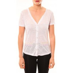 Abbigliamento Donna T-shirt maniche corte Meisïe Top 50-608SP15 Lavande Viola