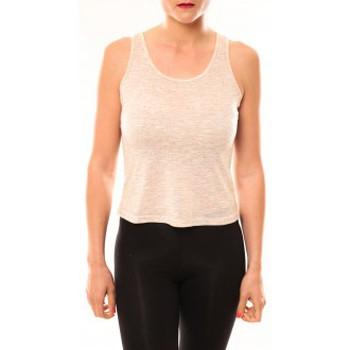 Abbigliamento Donna T-shirt & Polo Meisïe Débardeur 50-502SP15 Beige Beige