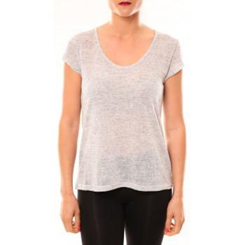 Abbigliamento Donna T-shirt maniche corte Meisïe T-Shirt 50-606SP15 Gris clair Grigio