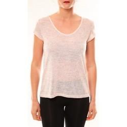 Abbigliamento Donna T-shirt maniche corte Meisïe T-Shirt 50-606SP15 Rose Rosa