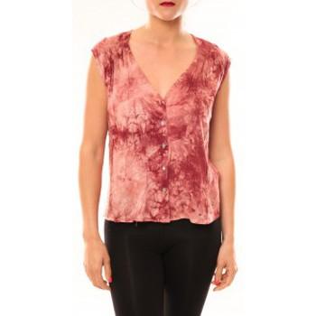 Abbigliamento Donna Top / T-shirt senza maniche Meisïe Top 50-504SP15 Rose Rosa
