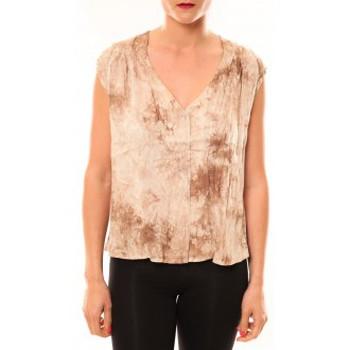Abbigliamento Donna Top / T-shirt senza maniche Meisïe Top 50-504SP15 Beige Beige