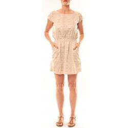 Abbigliamento Donna Abiti corti Meisïe Robe V6-710SP15 Beige Beige