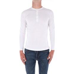 Abbigliamento Uomo Maglioni Filippo De Laurentis X23301 Girocollo Uomo Bianco Bianco