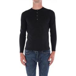 Abbigliamento Uomo Maglioni Filippo De Laurentis X23301 Girocollo Uomo Nero Nero