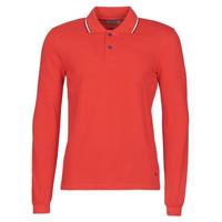 Abbigliamento Uomo Polo maniche lunghe Casual Attitude NILE Rosso